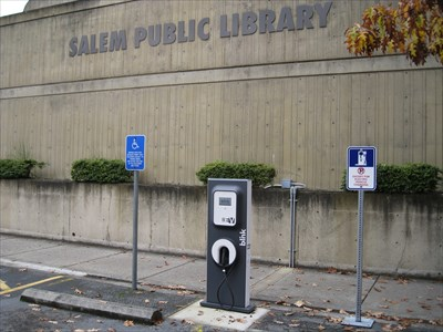 SalemPublicLibraryChargingStation